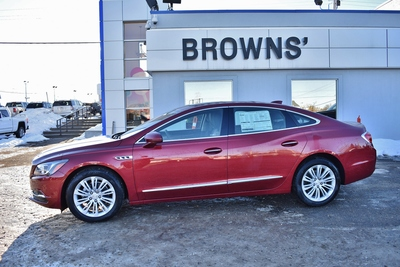 2018 buick lacrosse essence red