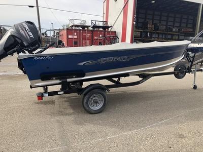 New 2017 LUND 1600 FURY for sale in Grande Prairie, AB