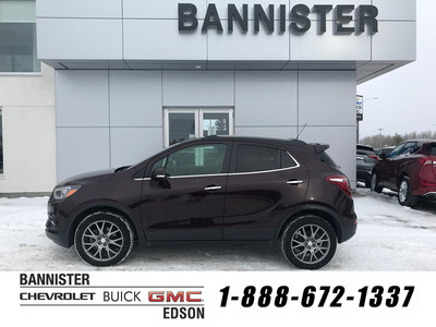 2018 Buick Encore AWD Black Cherry