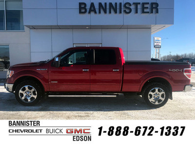 2011 Ford F150 Lariat Red
