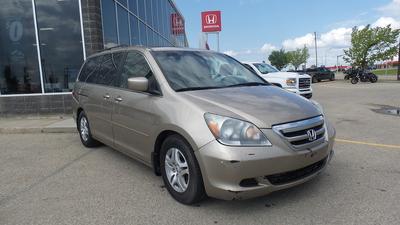 2005 Honda Odyssey Ex-L - Gold