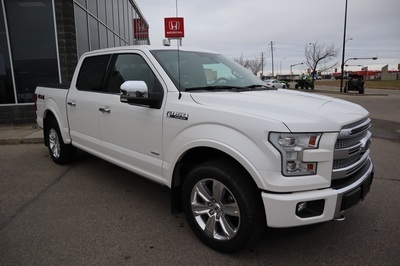 2016 Ford F-150 Platinum White