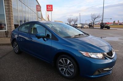 2015 Honda Civic EX Blue