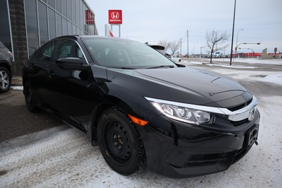 2018 Honda Civic LX Black Manual