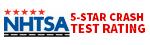 NHTSA Rated 5-star